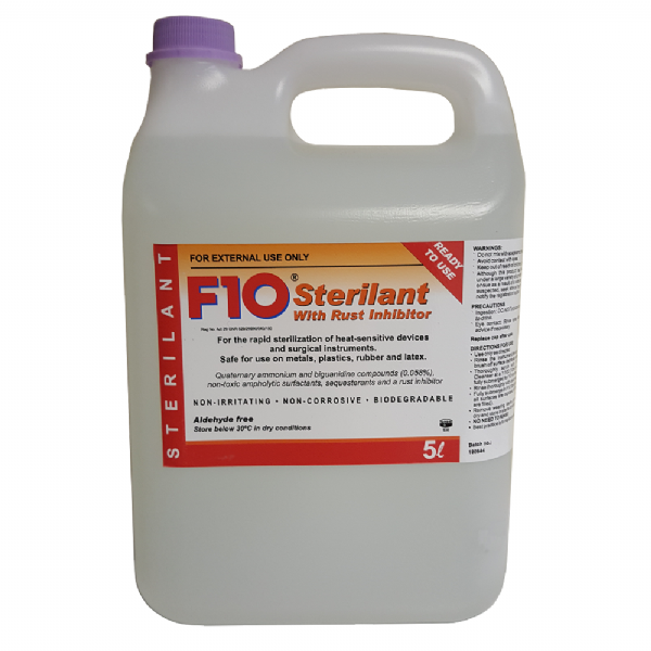 F10 Cold Sterilant with Rust Inhibitor